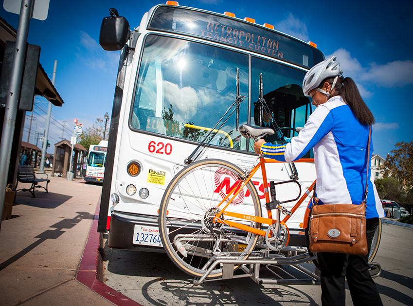 Combining bikes with transit is one of the great ways to get around